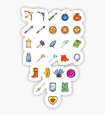 Zelda Inventory Sticker
