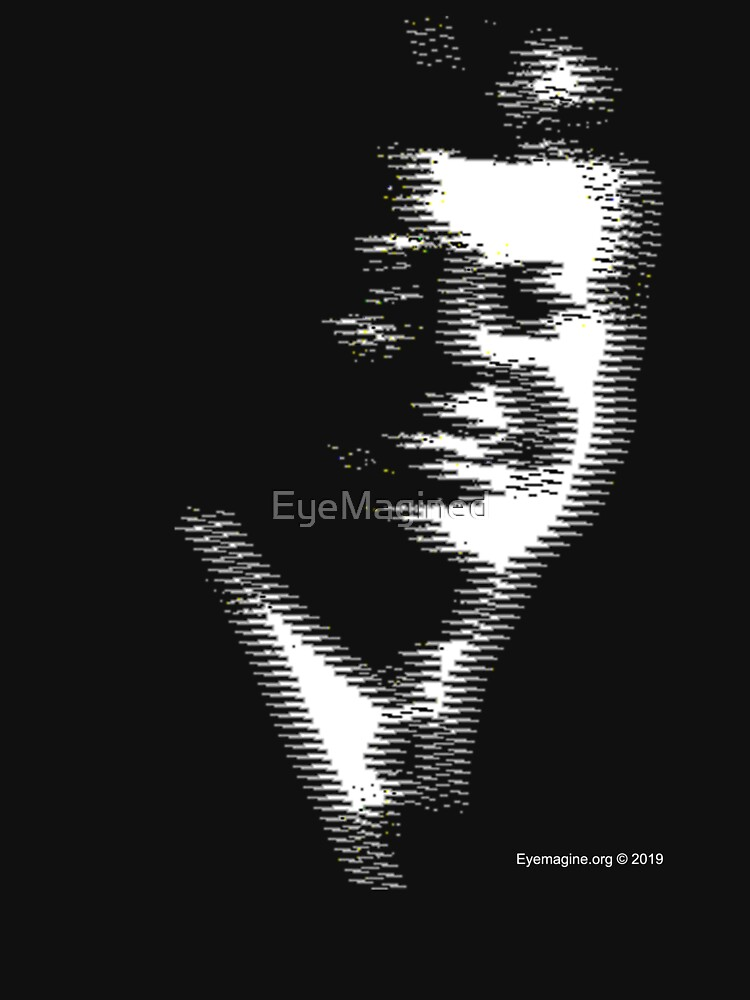 JFK Ghost TV Signal by EyeMagined
