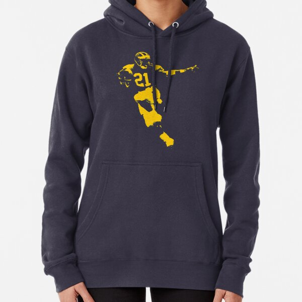 Desmond Heisman Howard - Maize Stencil Pullover Hoodie