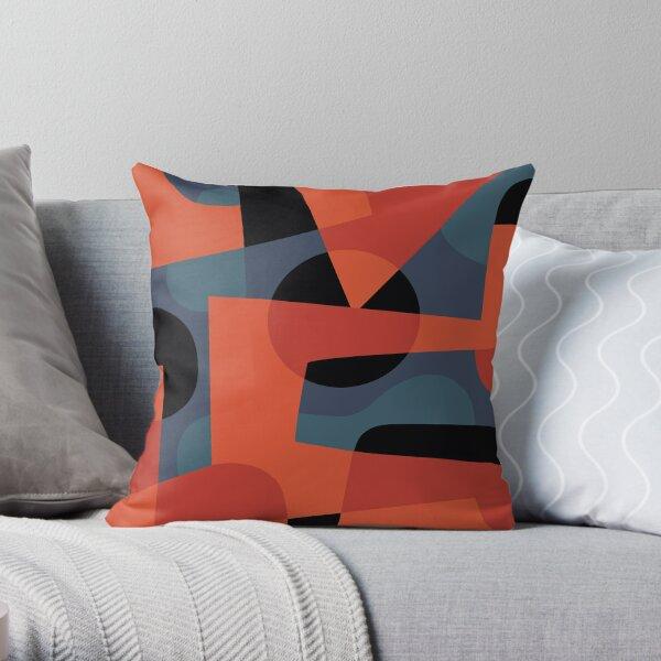 Abstract XXXIX Throw Pillow