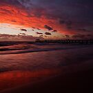 Henley Beach Sunset by aluzhun
