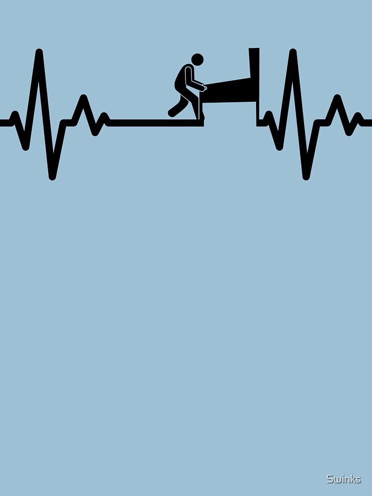Swinks - Pinball Heartbeat (Black) by Swinks