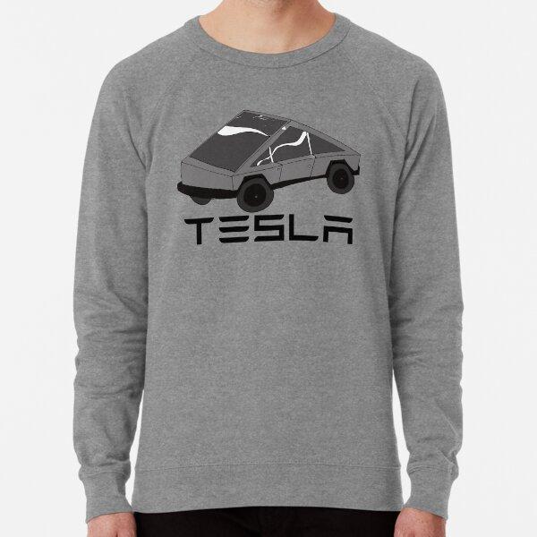 TESLA CYBER TRUCK ELON MUSK ART Lightweight Sweatshirt
