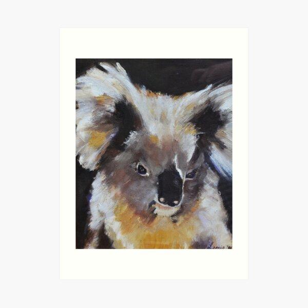 Koala Rescue - Australian Wildlife Rescue - 19 de noviembre Bushfires Lámina artística