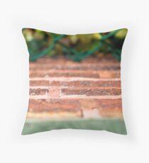 Bricks and Ivy - Wrigley Field Throw Pillow