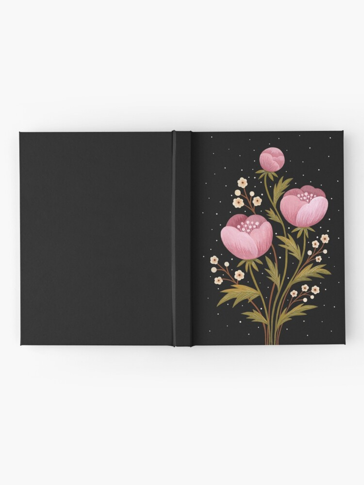 Alternate view of Blooms in the dark Hardcover Journal