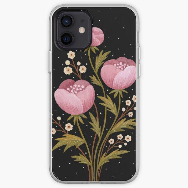 Blooms in the dark iPhone Soft Case