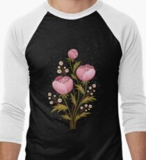 Blooms in the dark Baseball ¾ Sleeve T-Shirt