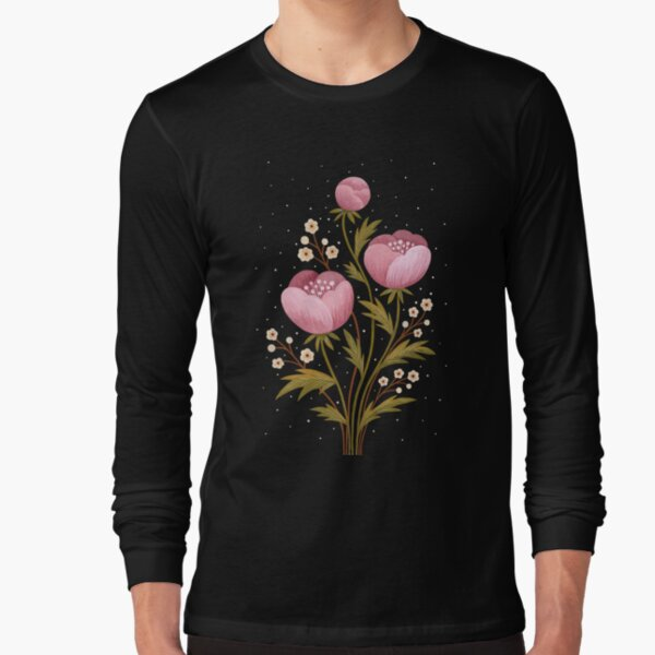 Blooms in the dark Long Sleeve T-Shirt