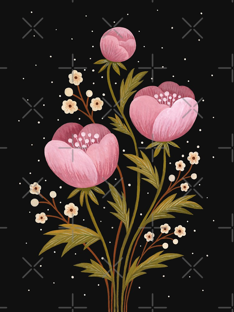Blooms in the dark by Laorel