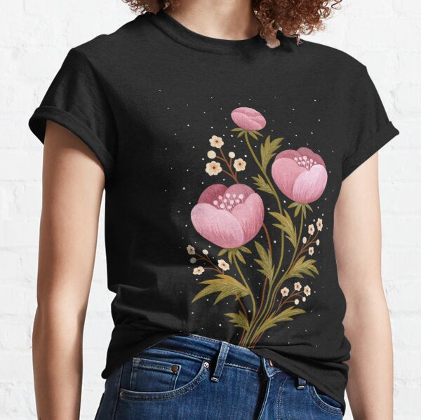 Blooms in the dark Classic T-Shirt