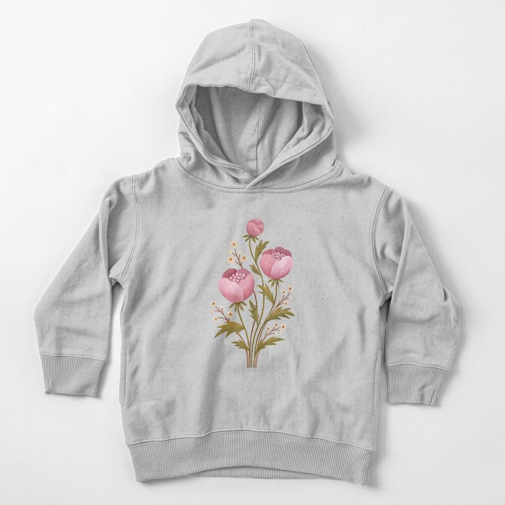 Blooms in the dark Toddler Pullover Hoodie