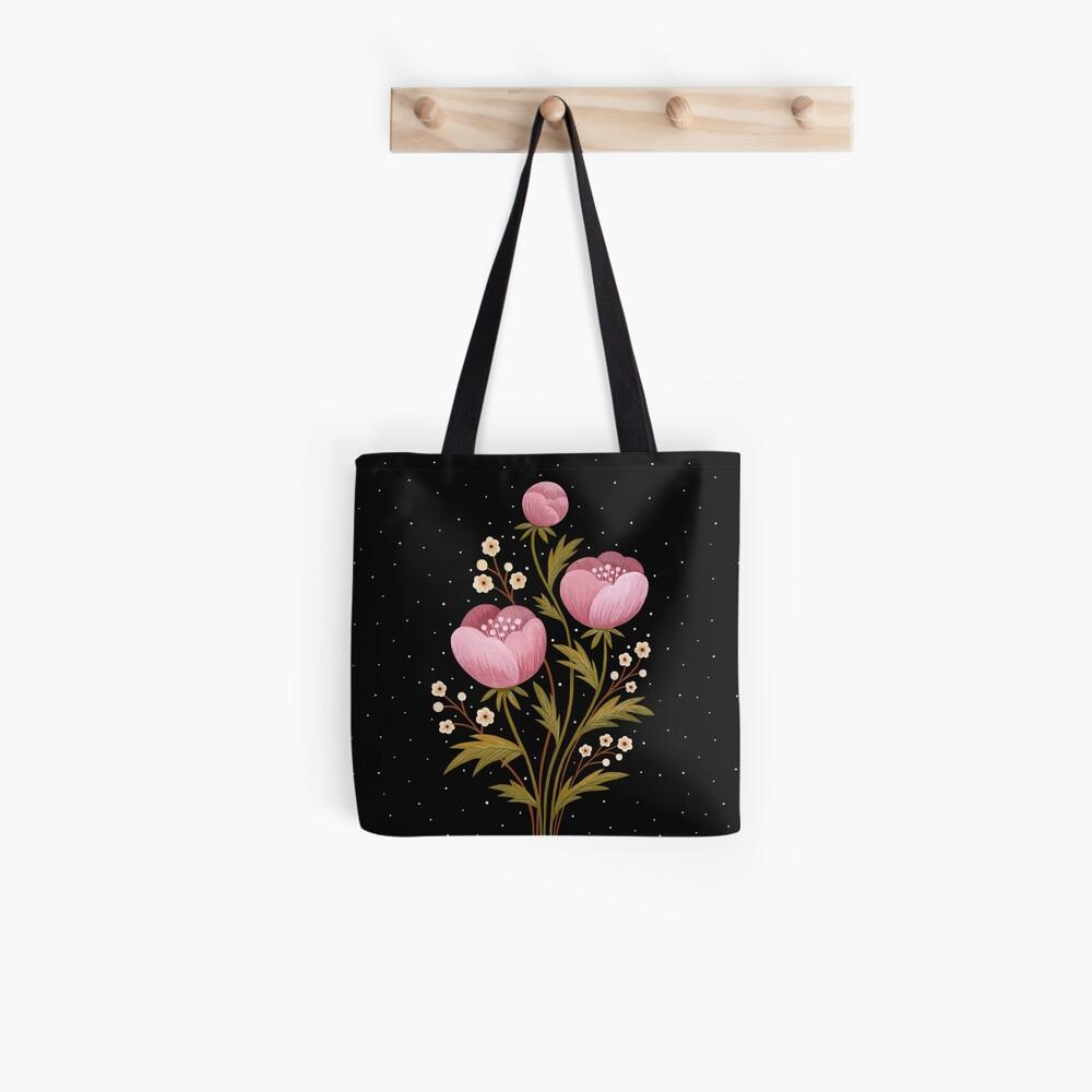 Blooms in the dark Tote Bag