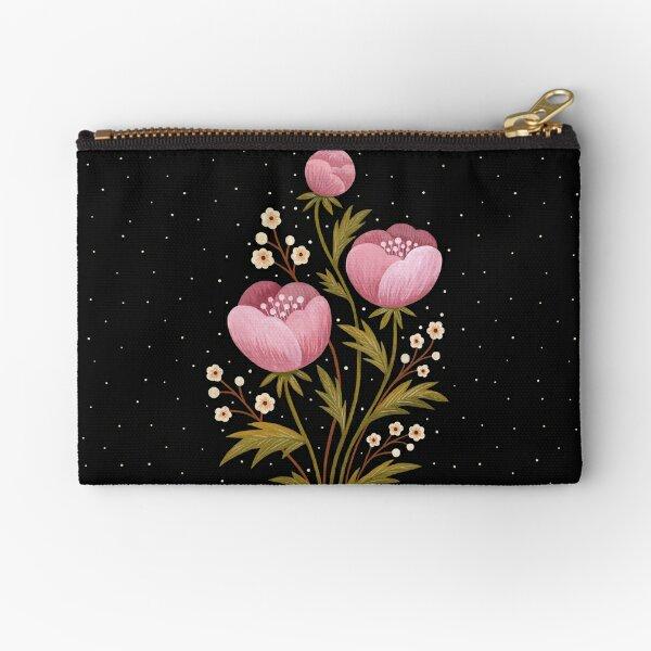 Blooms in the dark Zipper Pouch