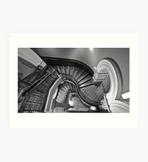 The Grand Stairway.. Art Print
