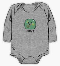 Body de manga larga para bebé ¿Gelatina? - Cubo gelatinoso