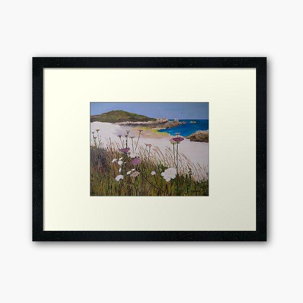 L'Ancresse Bay, Guernsey Framed Art Print