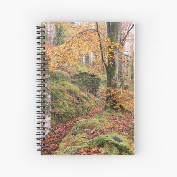 IDLESS MONASTERY Spiral Notebook