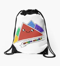 Magic Missile - D4 - Four-sided dice Drawstring Bag