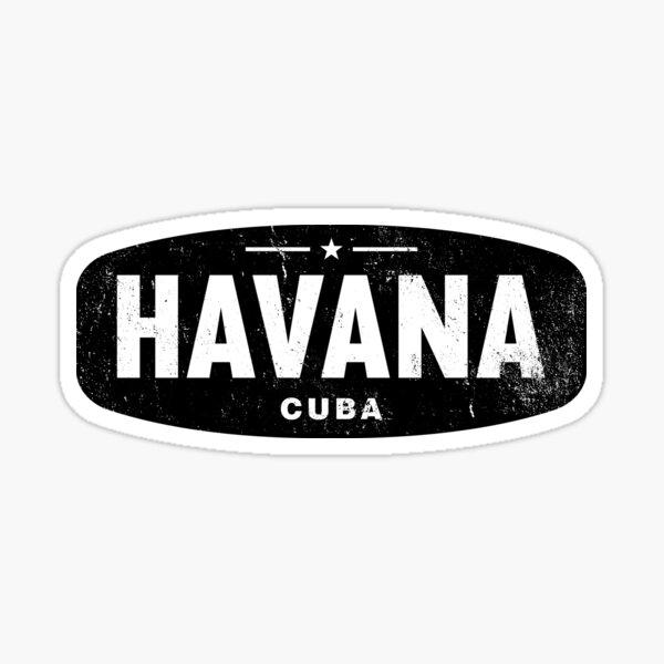 LOGO HAVANA CUBA DANS LE LOOK UTILISÉ DANS LE STYLE DE CUBA PAR SUBGIRL Sticker