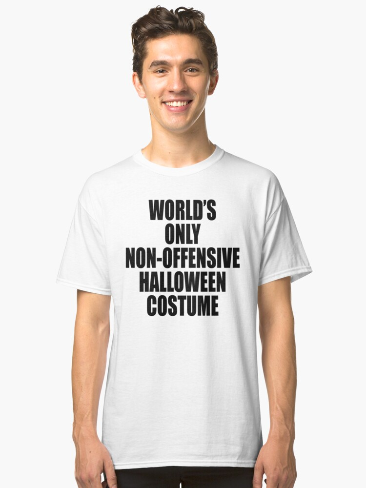 World\'s only non-offensive Halloween costume\