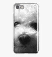 Bichon Frise - Black and White iPhone Case/Skin