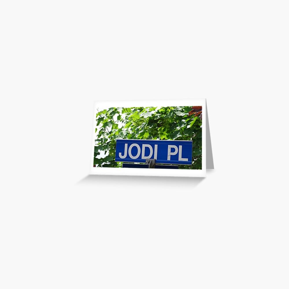 Jodi  Greeting Card