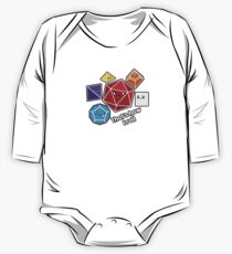 Polyhedral Pals - How I Roll - D20 Gaming Dice One Piece - Long Sleeve