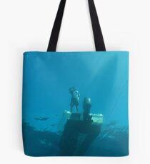 Dive boat  Tote Bag