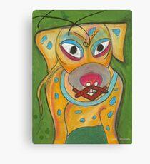 Dallie Green Canvas Print