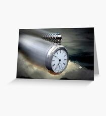 As time flys By Greeting Card
