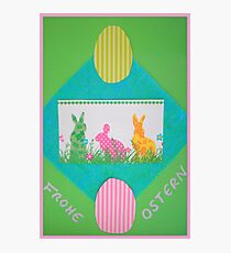 Frohe Ostern  Photographic Print
