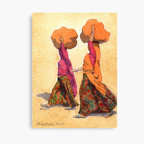 On Sawai Madhopur Road Canvas Print