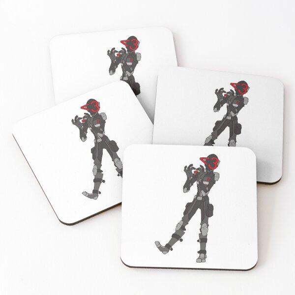 Borderlands Zer0 - Heart Coasters (Set of 4)