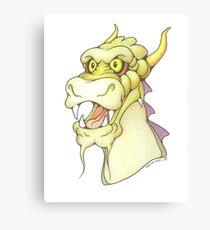 Dexter Dragon Canvas Print