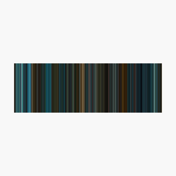 Moviebarcode: Blade Runner (1982) [Simplified Colors] Photographic Print