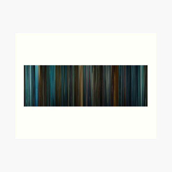 Moviebarcode: Blade Runner (1982) Art Print