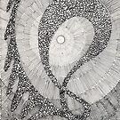 159 - DANCING PEBBLES - DAVE EDWARDS - INK - 1988 by BLYTHART