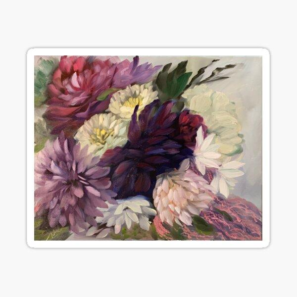 Fall Bridal Bouquet Sticker