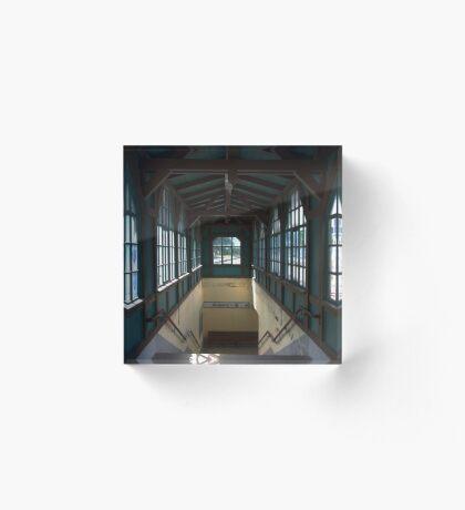 Cranzahl Station - Exits Acrylic Block