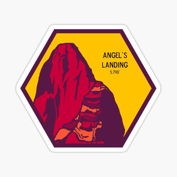 Angels Landing Zion National Park Utah sticker Sticker