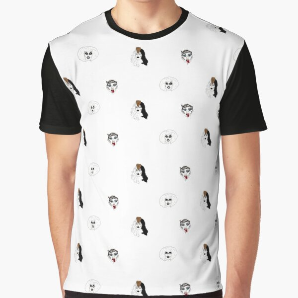 Sharon Needles pattern Graphic T-Shirt