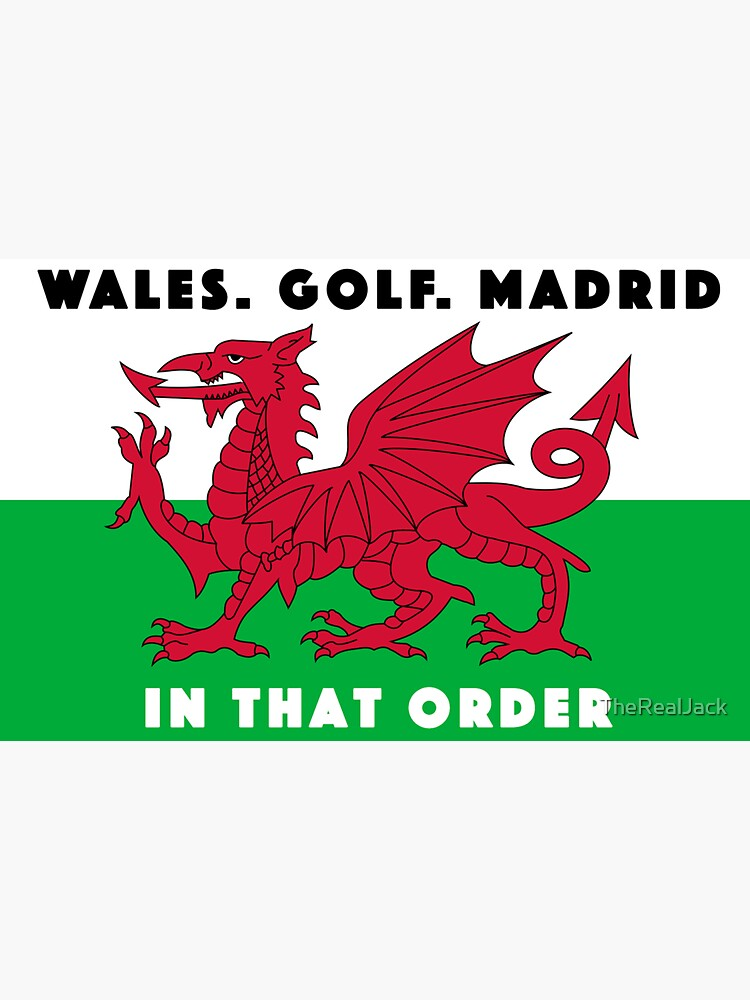 WALES GOLF MADRID by TheRealJack