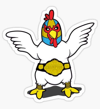 El Diablo - Fighting Chicken Sticker