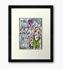 MOTHERS GIVE THEIR WHOLE HEART Framed Print