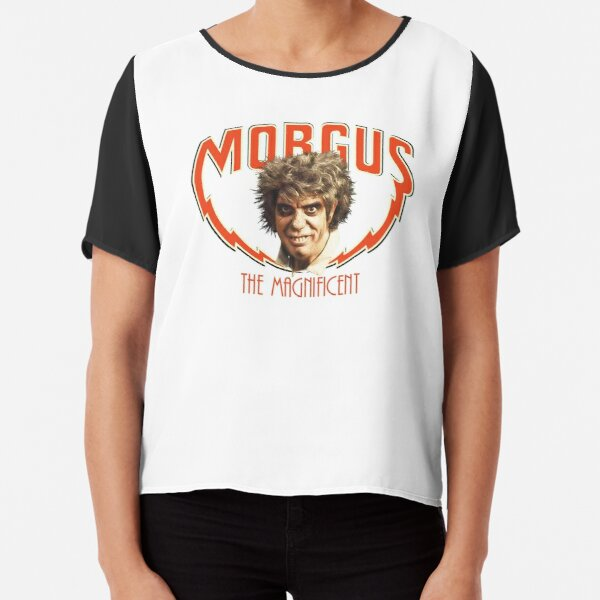 MORGUS: THE MAGNIFICENT Chiffon Top