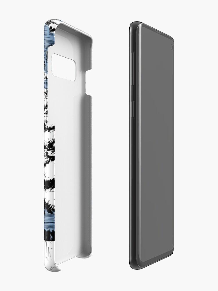 Alternate view of Backyard Snowfall Case & Skin for Samsung Galaxy