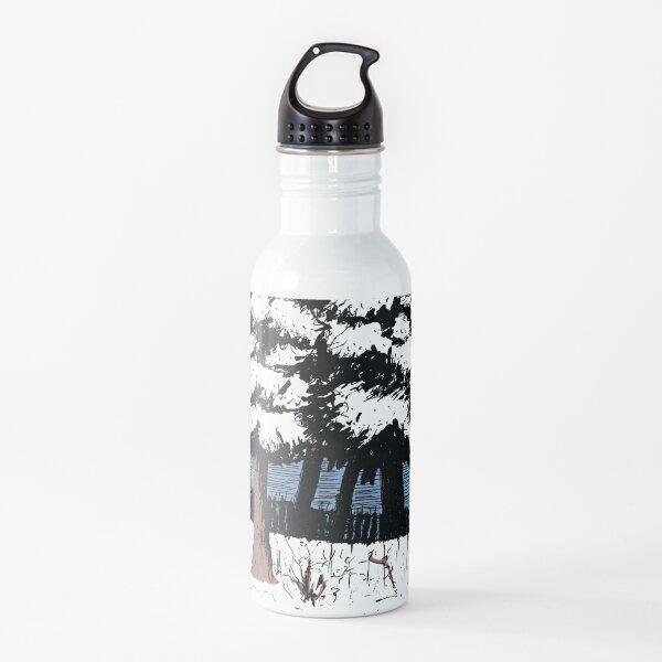 Backyard Snowfall Water Bottle