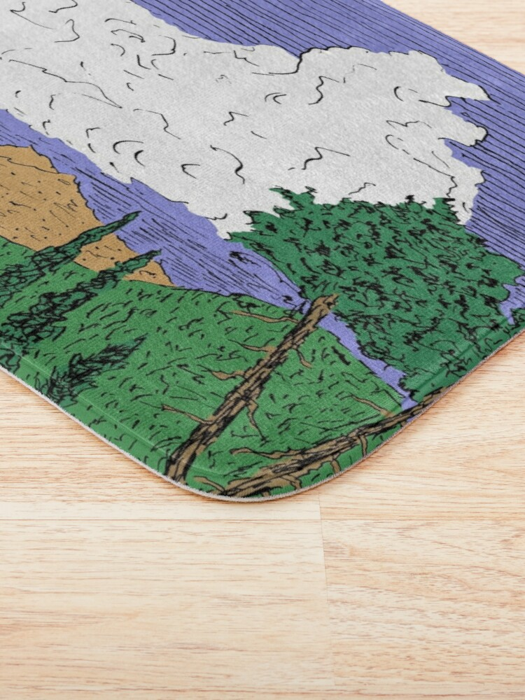 Alternate view of View of Freel Peak Bath Mat