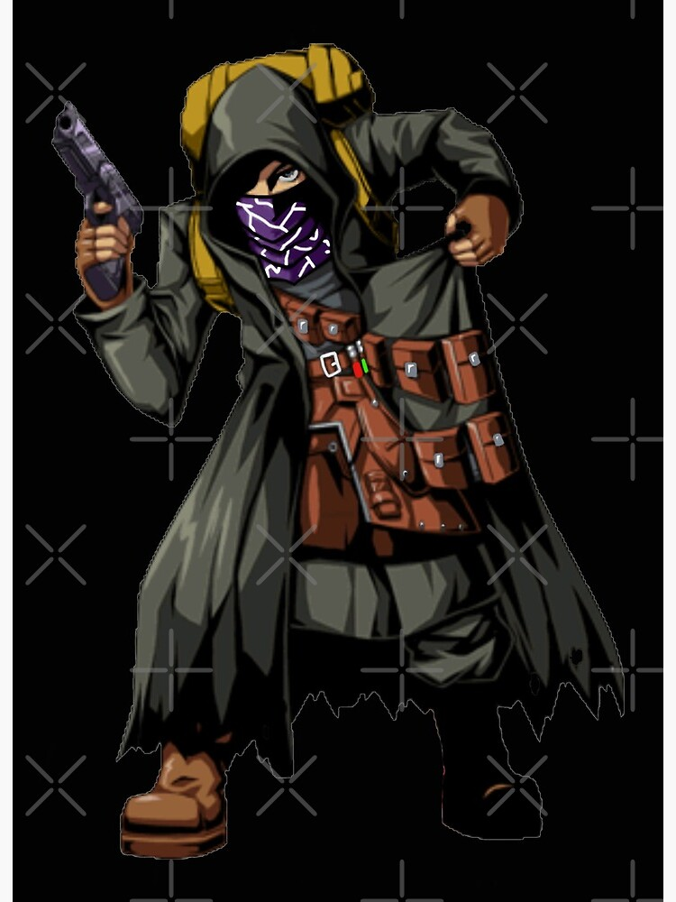 Resident Evil 4 Merchant No Quotes No Outline Brazz Art Board Print By Lilflipjimmy Redbubble